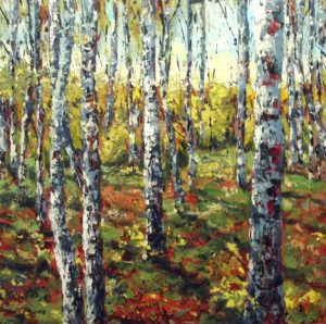Birches - fall