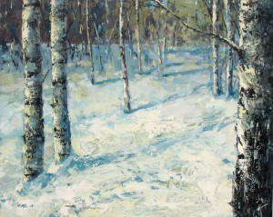 Birches - winter