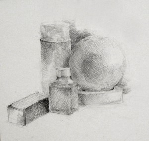 Louba - pencil drawing550