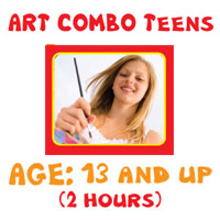 Art Lessons Program - Art Combo Teens