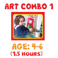 Art Lessons Program - Art Combo 1