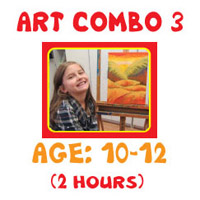 Art Lessons Program - Art Combo 3