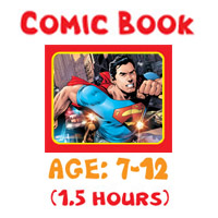 Art Lessons Program - Comic Book