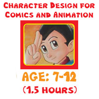 Art Lessons Program - Animation Character Design