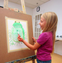 Creative ideas to boost  your child's artistic skills during this summer