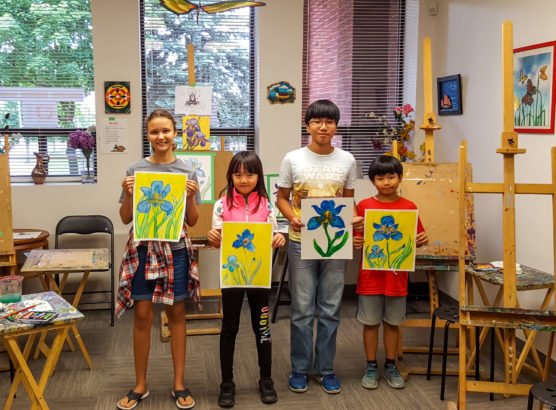 Free Workshops – Summer landscapes and Flowers!