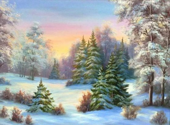 Adult Painting Workshop – Winter Landscapes at Art One Academy Markham!